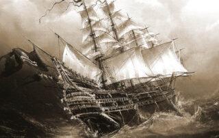 barco pirata de la muerte negra